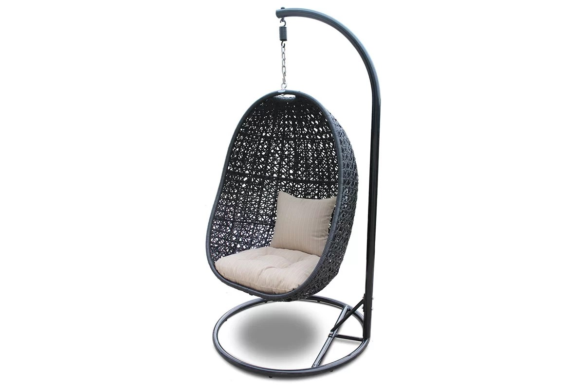 buy chair swing stand folding metal harmonia living nimbus with and reviews