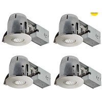 Globe Electric Company IC Rated Swivel Recessed Lighting ...