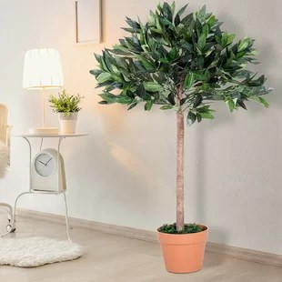 artificial plants for living room cafe old town trees you ll love wayfair co uk quickview