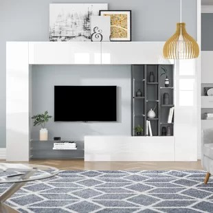 entertainment units living room open plan kitchen dining ideas you ll love wayfair co uk egypt unit for tvs up to 65