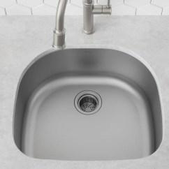 Kraus Kitchen Sinks Sink Rack 23 X 21 Undermount With Basket Strainer