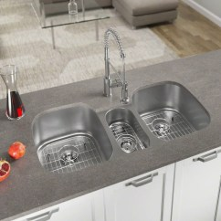 Triple Kitchen Sink Colors Of Cabinets Sinks You Ll Love Wayfair Quickview