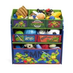 Ninja Turtle Chair Toys R Us Over Tables Uk Delta Children Turtles Multi Bin Storage Organizer