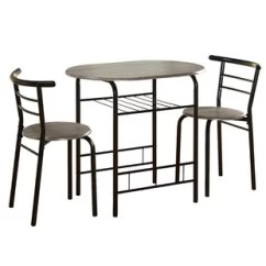 Gray Kitchen Chairs Stainless Steel Table Top Grey Dining Room Sets You Ll Love Wayfair Quickview