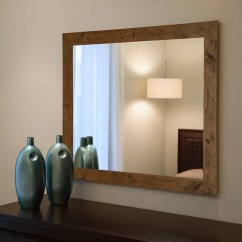 Decorative Kitchen Canisters Sets Lights Over Island Rustic Light Walnut Wall Mirror & Reviews | Birch Lane