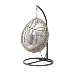 Outdoor Wicker Swing Chair Modern Papasan Australia Weller Basket With Stand Reviews Joss Main