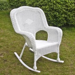 White Resin Wicker Chairs Target Baby Chair Rocking Wayfair Quickview