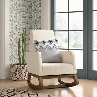 baby room rocking chair 3i aluminum nursery chairs wayfair quickview