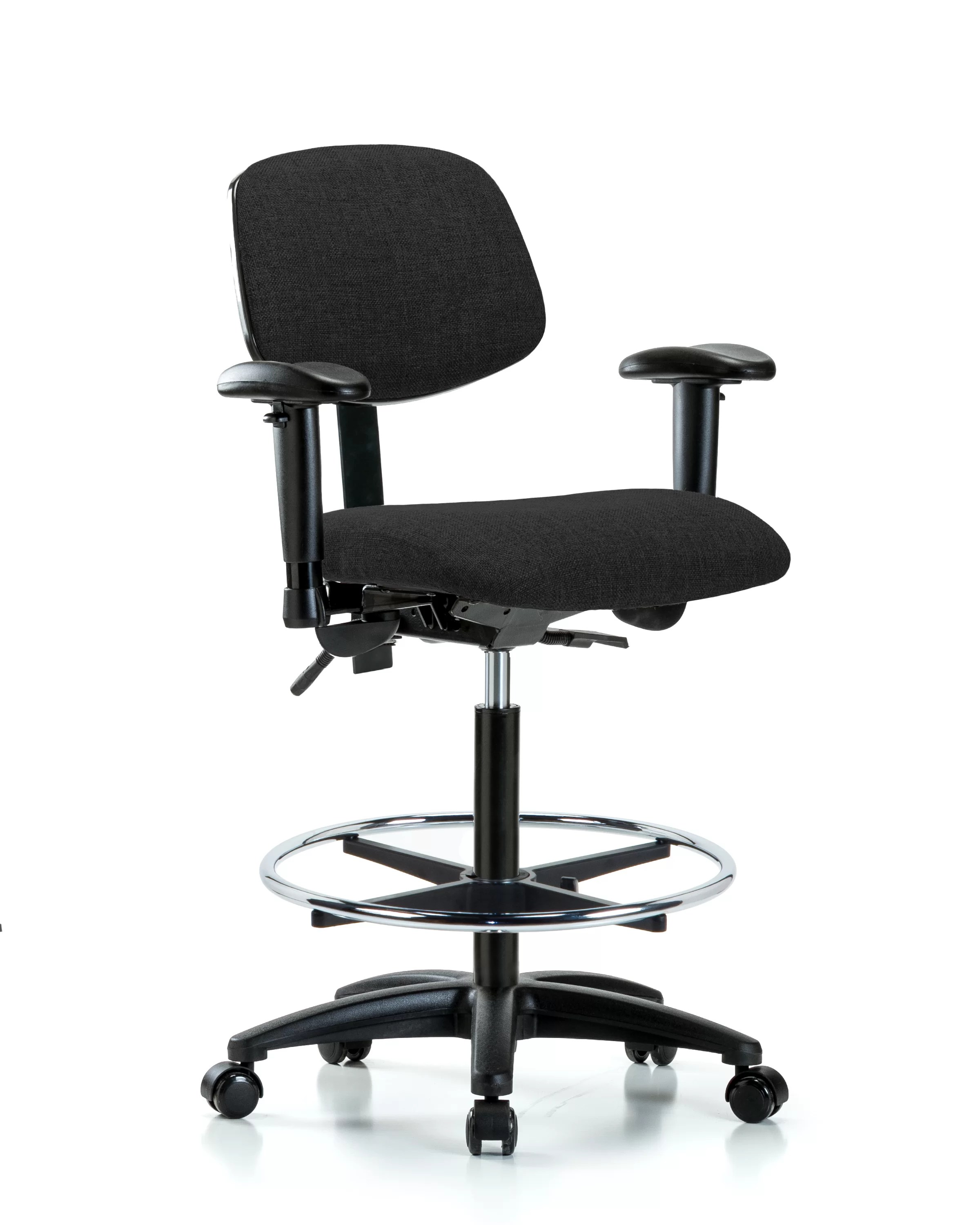 How To Adjust Office Chair Estelle Drafting Chair