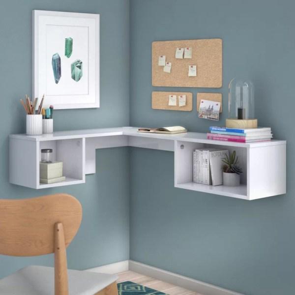 Orren Ellis Chaves Wall Mount Corner Desk &