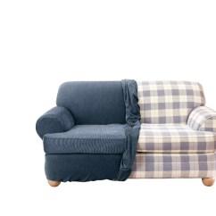Sure Fit Stretch Stripe 2 Piece T Cushion Sofa Slipcover Cama Precios Loveseat