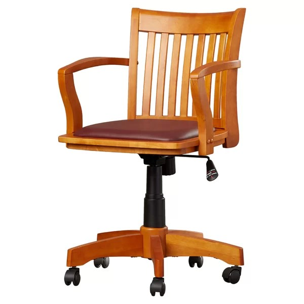 the revolving chair base folding chairs target wood office you ll love wayfair