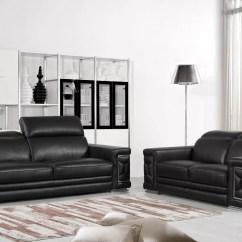 Luxury Leather Living Room Sets Safari Themed Decor Orren Ellis Nicolette Italian 2 Piece Set Wayfair