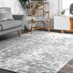 Neutral Rugs For Living Room Feng Shui Colors 2016 Area Joss Main Bloom Cool Gray Dark Ivory Rug