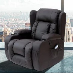 Leather Recliner Chairs Saarinen Executive Armless Chair Real Wayfair Quickview