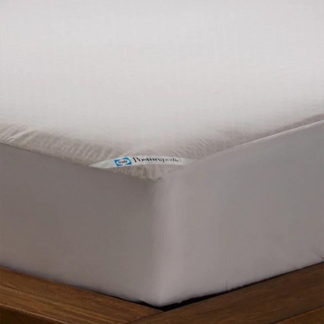 Posturepedic Allergy Zippered Hypoallergenic Waterproof Mattress Protector