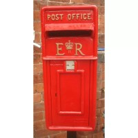 Blackbrook Replica Royal Locking Post Mounted Letter Box ...
