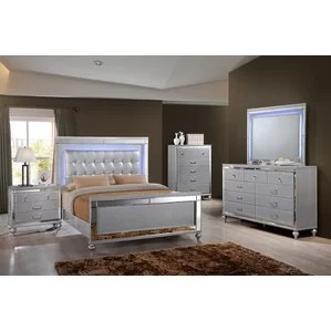 Regents Panel Customizable Bedroom Set