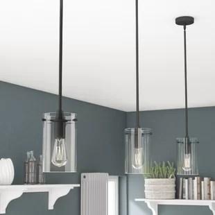 kitchen pendant light fixtures island vent lighting you ll love wayfair