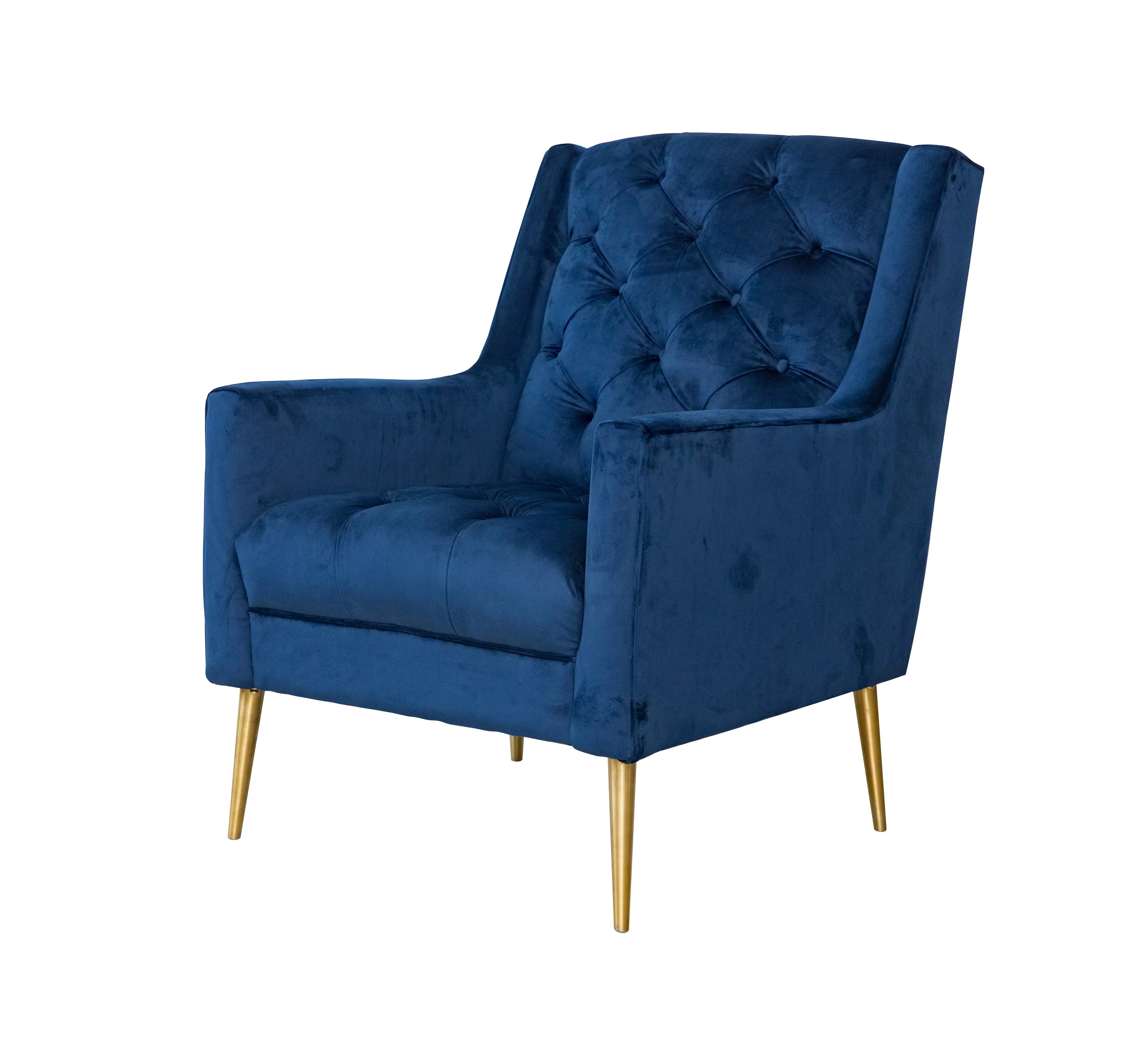 Wingback Tufted Chair Delvale Wingback Chair