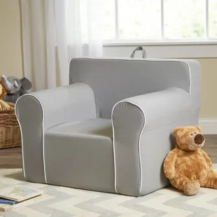kids plush chairs fire pit tables with play wayfair my comfy personalized chair