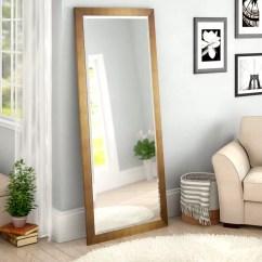 Full Length Mirror In Living Room Carpets Rugs Red Barrel Studio Apostol Slender Body Floor Reviews Wayfair
