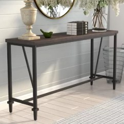 Behind The Sofa Table Manufacturer Malaysia Couch Console Wayfair Mannington