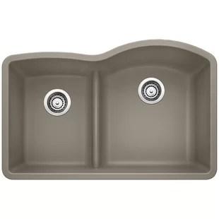 small kitchen sinks butcher block islands wayfair quickview