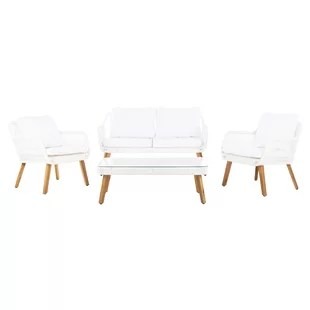 white wicker chairs and table cozzia massage chair modern contemporary outdoor furniture allmodern quickview navy