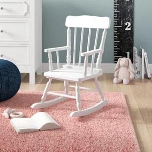 children rocking chairs plastic adirondack uk child chair wayfair quickview