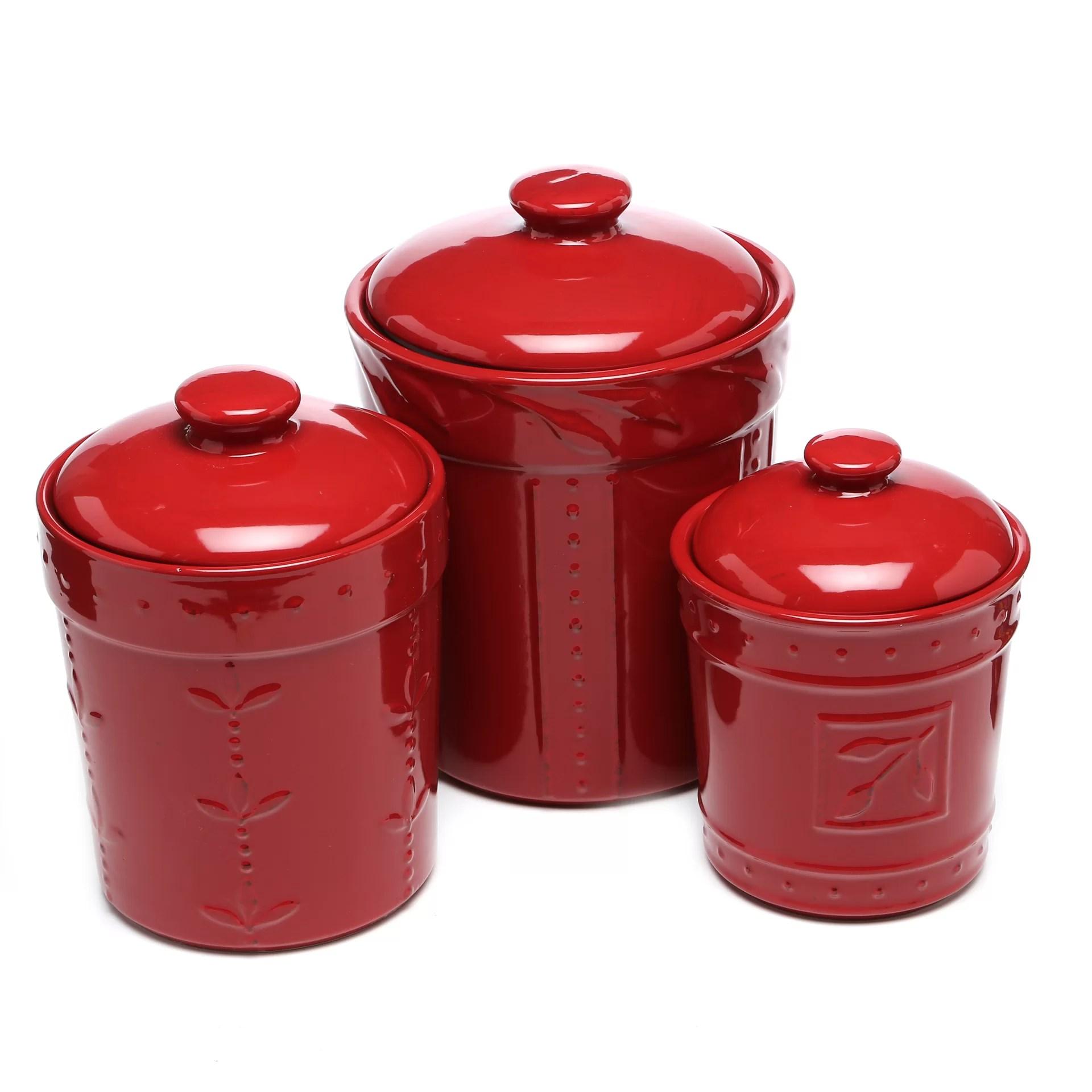 3 piece kitchen set farm sinks genesee canister reviews joss main