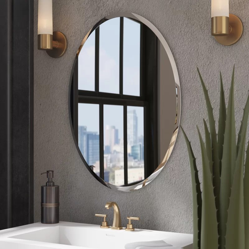 Wade Logan Kayden Bathroom Mirror  Reviews  Wayfair