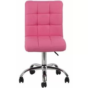 pink swivel chair quickseat folding bettie office by orren ellis cheap price