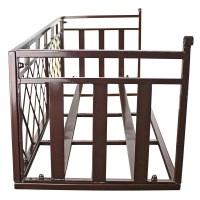 Design Toscano Tubular Steel Window Box Planter & Reviews ...
