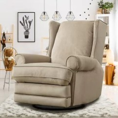 Swivel Reclining Chairs For Living Room Comfortable Recliners You Ll Love Wayfair Halpin Modern Wingback Gliding Manual Recliner