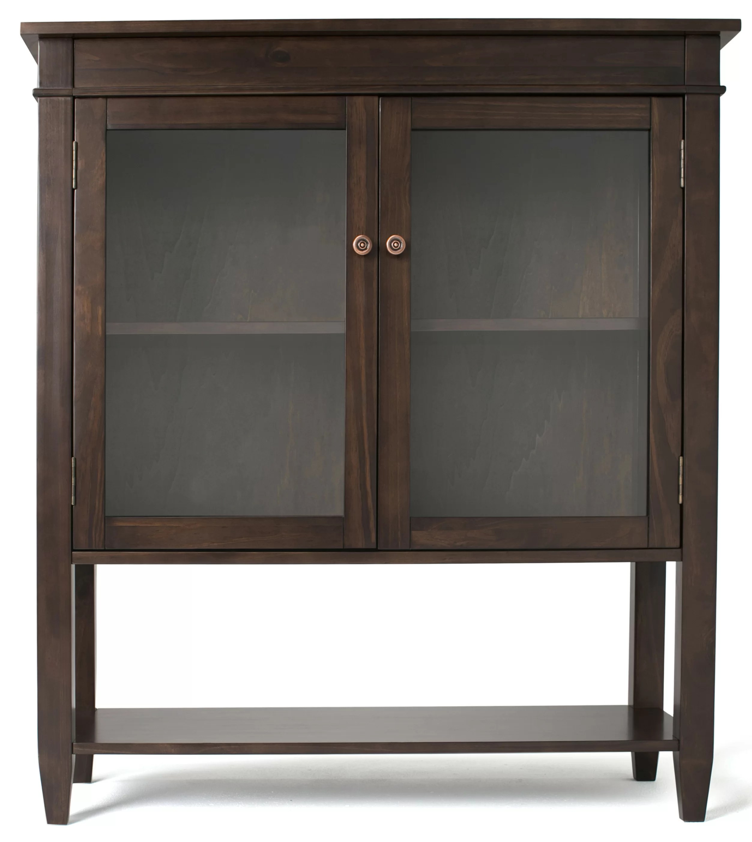 Simpli Home Carlton Storage Media Cabinet and Server