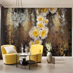 Wall Mural Ideas For Living Room How To Decorate A Narrow Murals You Ll Love Wayfair Wilhelm Serafina 12 X 99 6