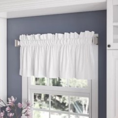 Kitchen Window Valances Country Faucets Cafe Curtains You Ll Love Wayfair Ca Save