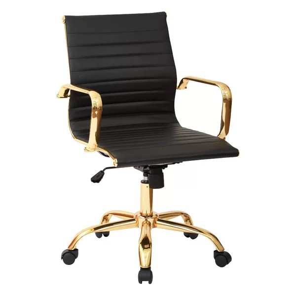 office chair armrest modern side chairs desk joss main