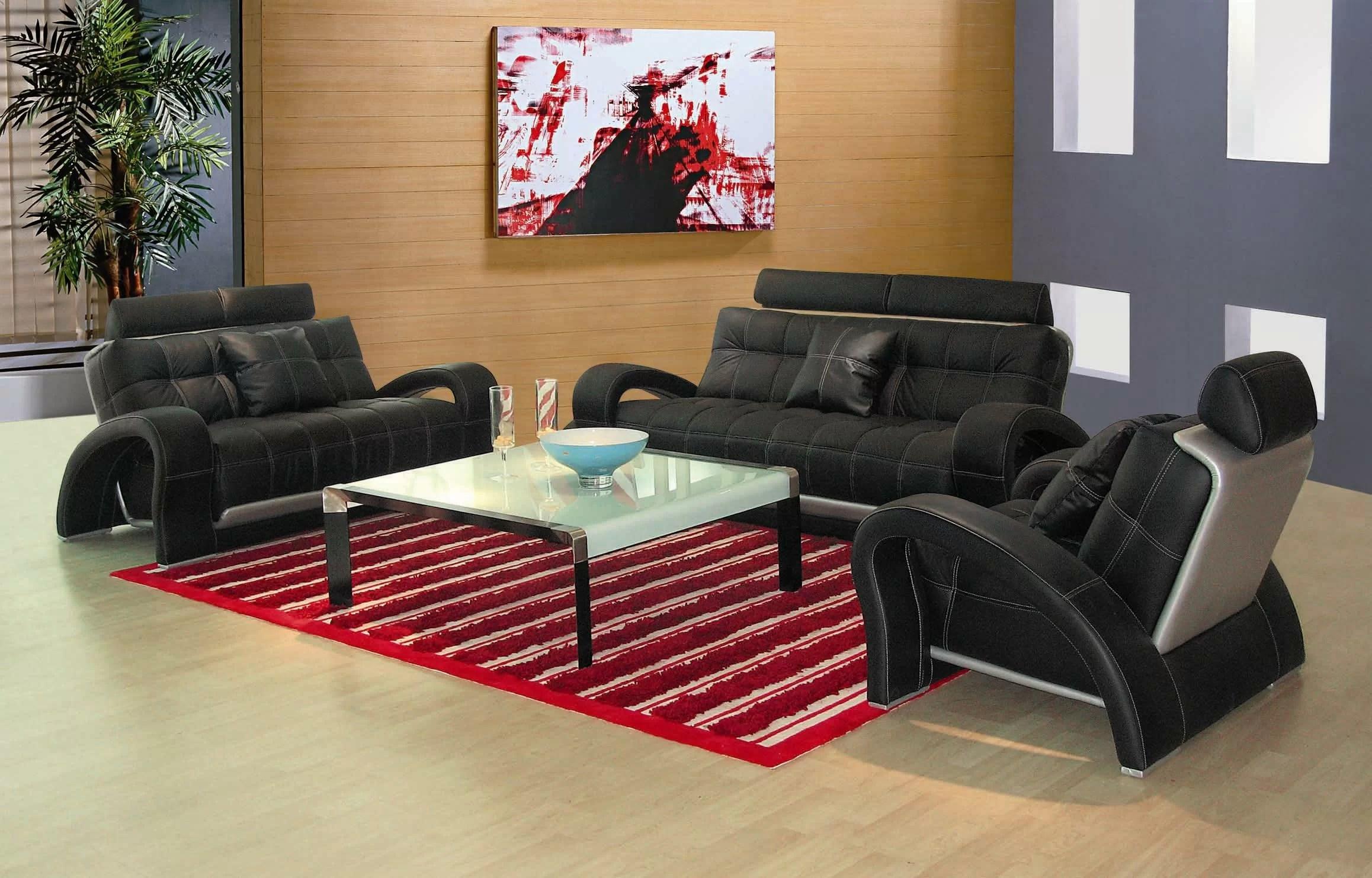 3 piece black leather living room set menards furniture hokku designs arthur reviews wayfair