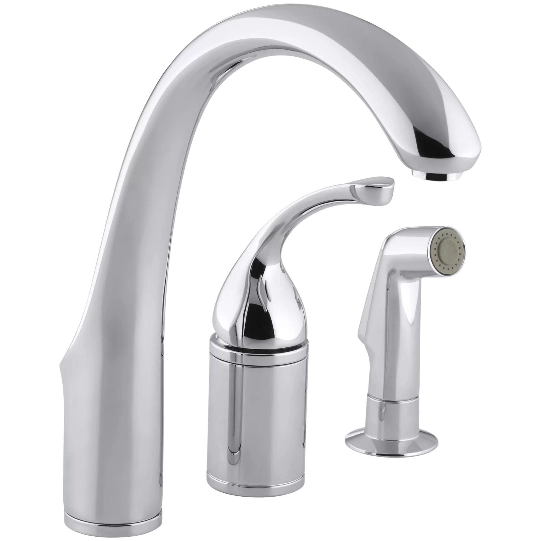 Kohler Forté 3hole Remote Valve Kitchen Sink Faucet With
