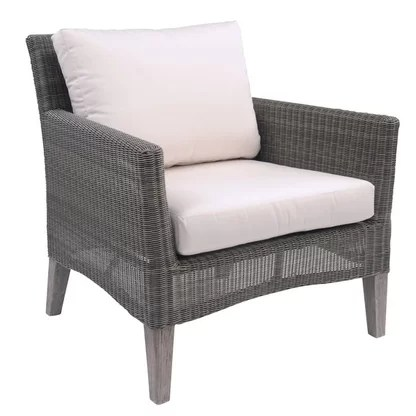 kingsley bate amalfi club chair outdoor nest lounge chairs perigold paris teak patio with cushions