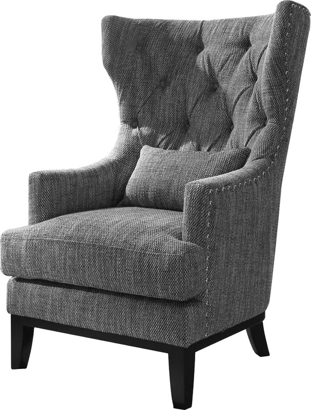 Darby Home Co Val Wingback Chair  Reviews  Wayfair
