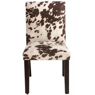 giraffe print chair modern ball lounge animal accent chairs you ll love wayfair bodgers parsons upholstered