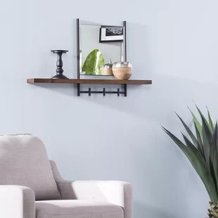 mirrors for entryway wayfair