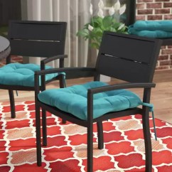 Dining Room Chair Pillows Chairs Good For Back Problems Andover Mills Indoor Outdoor Cushion Reviews Wayfair Set Of 4