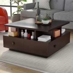 Square Living Room Tables Collection Coffee You Ll Love Wayfair Table