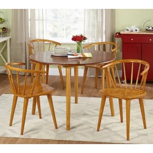 light oak dining chairs chair covers for events set wayfair quickview