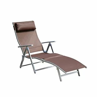 folding chaise lounge chair outdoor executive office chairs johannesburg you ll love wayfair quickview