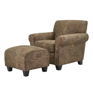 chair with ottoman stool height sets you ll love wayfair quickview
